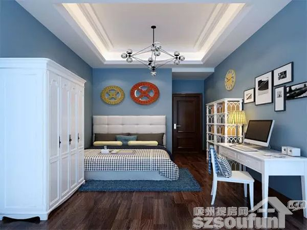 儿童房装修风水之四:床位摆放
