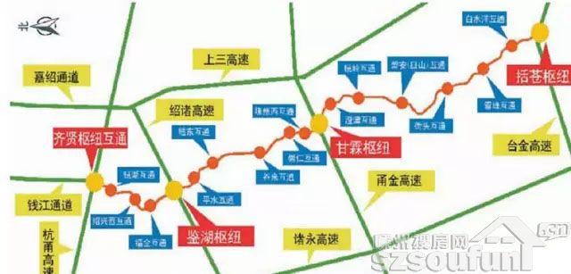 青岛到义乌的铁路路线地图