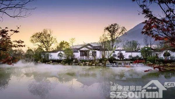 """【绿城越剧小镇】蓝城集团荣获""""2017中国房地产城镇化"""