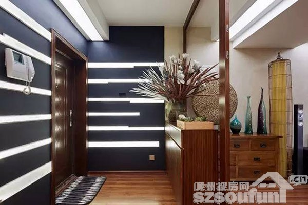 中式木条线条素材